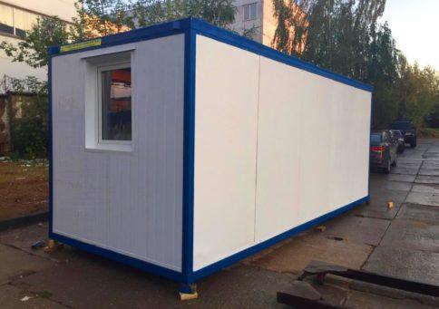 Блок-контейнер офисный 6,0х2,4х2.6м b