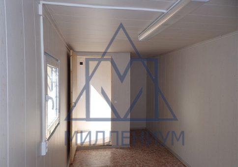 БК-00 с ПВХ окном (пвх панели) b10