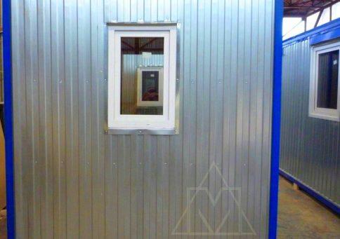 БК-00 с ПВХ окном (внутри вагонка) b10