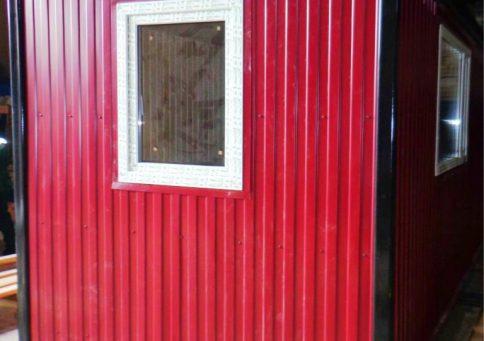 БК-03 с ПВХ окном (цвет RAL) b0