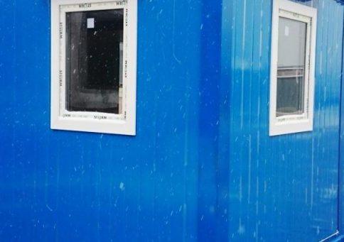 БК-03 с ПВХ окном (цвет RAL) b6