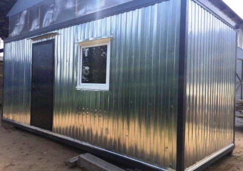 Блок-контейнер офисный эконом (6х2,4м) b0
