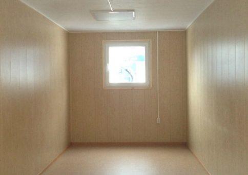 Блок-контейнер офисный эконом (6х2,4м) b1