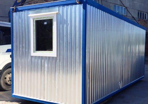 Блок-контейнер офисный эконом (6х2,4м) b