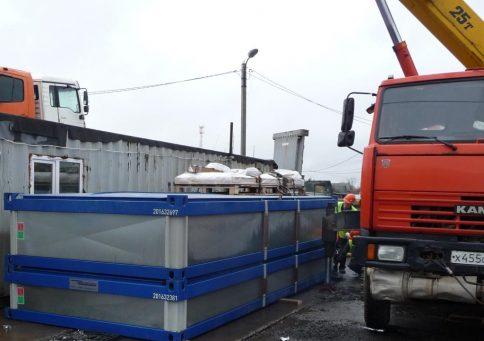 Блок контейнер 16″ Containex 4,8х2,4м (Контейнекс) b0
