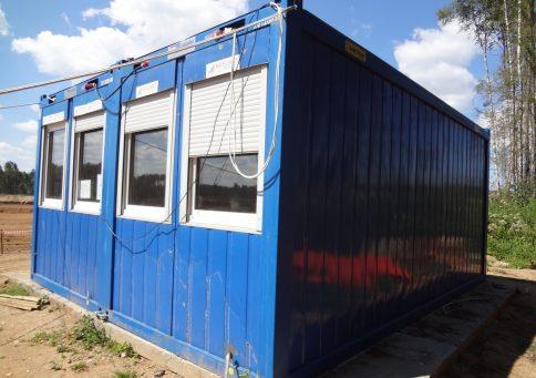 Блок-контейнер 20″ Containex  6,0х2,4м (Контейнекс) b1