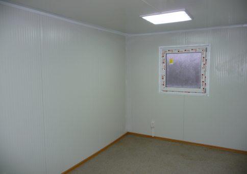 Блок-контейнер из сэндвич панелей офис 6,0х2,4х2,6м b2