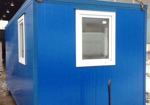 Блок-контейнер из сэндвич панелей офис 6,0х2,4х2,6м b3