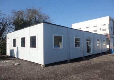Модульное здание из 10-ти бытовок (один этаж) b0