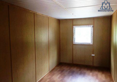 Модульное здание из 10-ти бытовок (два этажа) b4