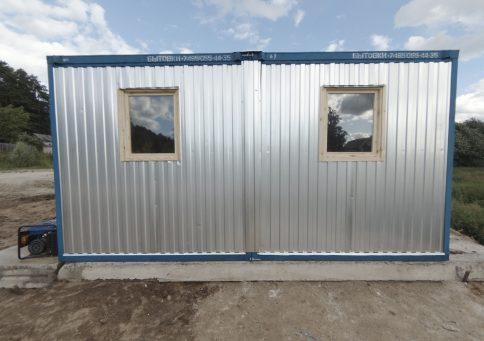 Модульное здание 6,0х4,8м из двух блок-контейнеров b0