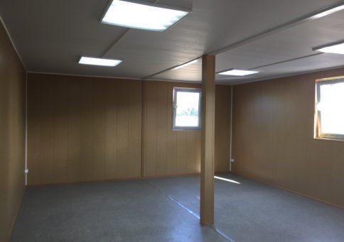Модульное здание 6,0х4,8м из двух блок-контейнеров b1