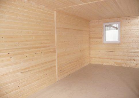 Модульное здание 6,0х4,8м из двух блок-контейнеров b2