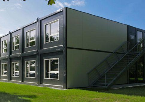Модульное здание из сэндвич панелей b2