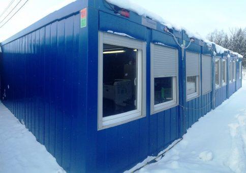 Модульное здание Containex b1