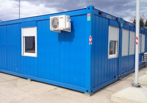 Модульное здание Containex b