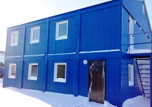 Модульное здание Премиум b0