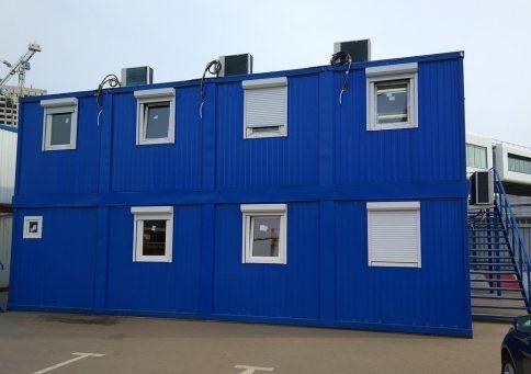 Модульное здание Премиум b