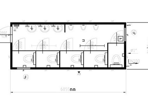 Блок-контейнер 20″ Containex  6,0х2,4м (Контейнекс) b13