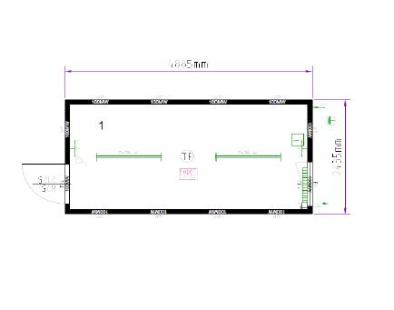 Блок-контейнер 20″ Containex  6,0х2,4м (Контейнекс) b10