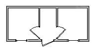 Бытовка садовая с вагонкой Быт-02 6,0х2,3м b4