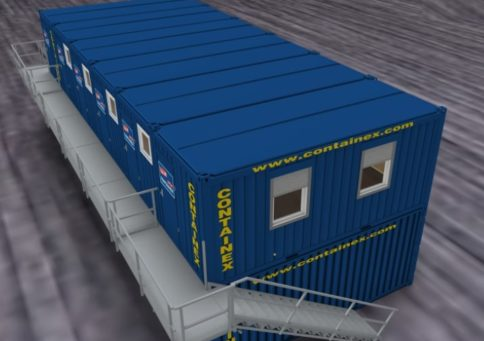 Модульное здание Containex