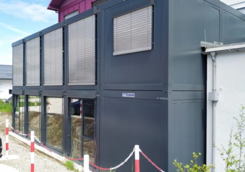 Модульное здание Containex «20 (2 этажа) b4