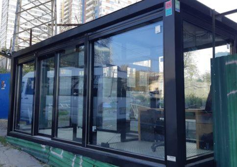 Модульное здание Containex»20 Павильон (6,0х4,8х2,6м) b1
