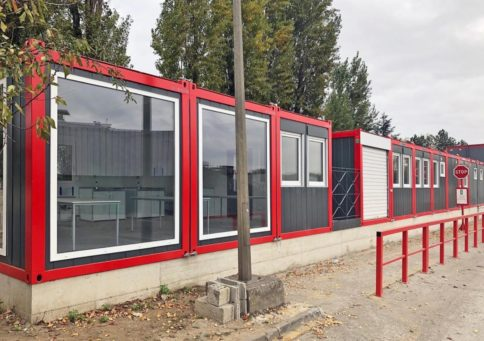 Модульное здание Containex»20 Павильон (6,0х4,8х2,6м) b3