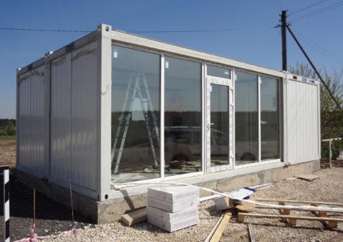 Модульное здание Containex»20 Павильон (6,0х4,8х2,6м) b7