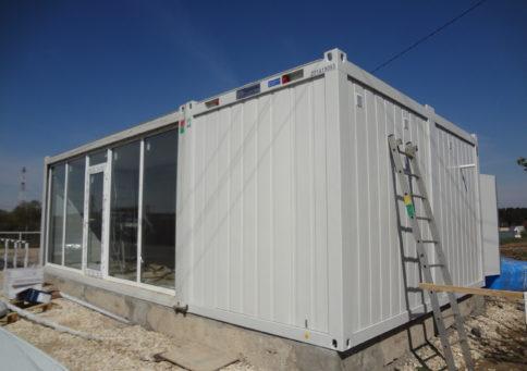 Модульное здание Containex»20 Павильон (6,0х4,8х2,6м) b8