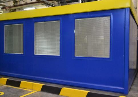 Модульное здание Containex»20 Павильон (6,0х4,8х2,6м) b9
